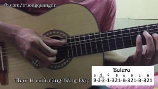 Bài 7: Hướng dẫn chơi Guitar điệu Bolero bài Đừng Xa Em Đêm Hay (Đức Huy)