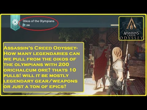 Assassin's Creed® Odyssey- 200 Orichalcum at the Oikos!!! thumbnail