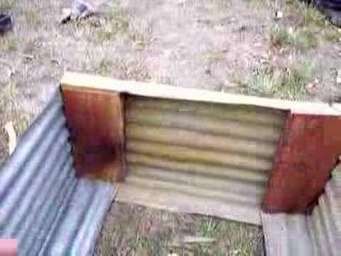 Building A Cheap Raised Garden Bed 2 Youtube