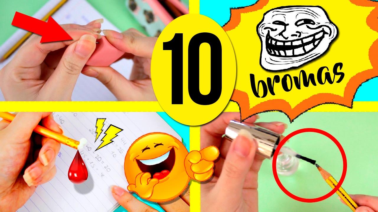 Las Mejores Bromas Para La Escuela 10 Ideas Para Fastidiar A Tus Amigos En El Colegio