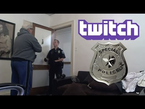 Top 5 Twitch Streamers that were Arrested LIVE on Camera