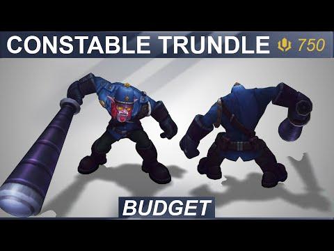 Constable Trundle Skin Spotlight 2020 | SKingdom - League of Legends