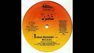 MC A.D.E - Bass Mechanic (Vocal)