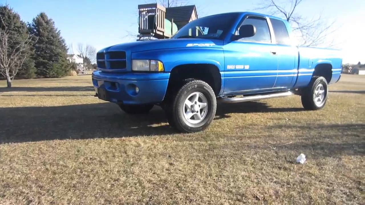 2000 Dodge Ram 1500 Sport Youtube