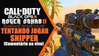 BLACK OPS 3 MULTIPLAYER - Tentando jogar de Snipper [PS4 PT-BR] ☜═㋡