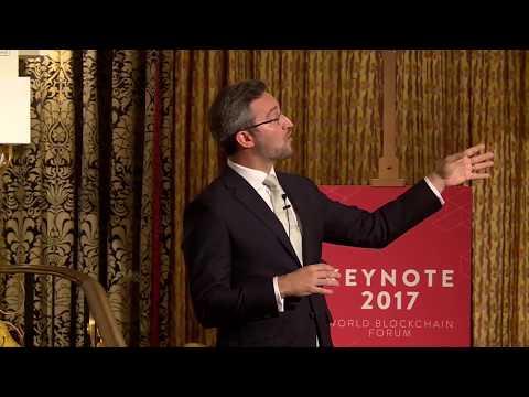 World Blockchain Forum   Dr  Noah Raford, COO at Dubai Future Foundation