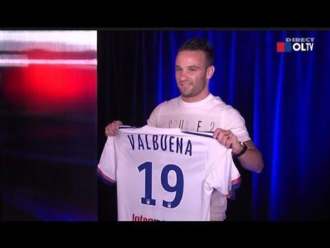 Conférence de presse Valbuena à Lyon 11/08/15