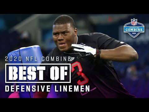 Best Of Defensive Linemen Workouts At The 2020 NFL Scouting Combine