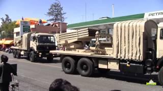 Desplazamiento de Unidades de Lanzacohetes Multiple  MLRS TYPE 90 B