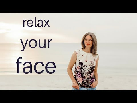 Relax your face muscles instantly with this face meditation