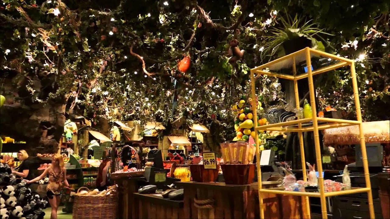 Rainforest Cafe Disney S Animal Kingdom Walt Disney