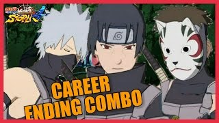 NARUTO STORM 4 | First Rage Quitter Exposed | Anbu Black Ops Career Ending Combo