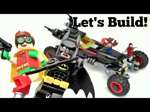 THE LEGO BATMAN MOVIE: The Batmobile 70905 - Let's Build!