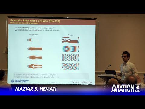 2016 AIAA AVIATION Forum: Flow Control - Maziar Hemati, Matthew Williams