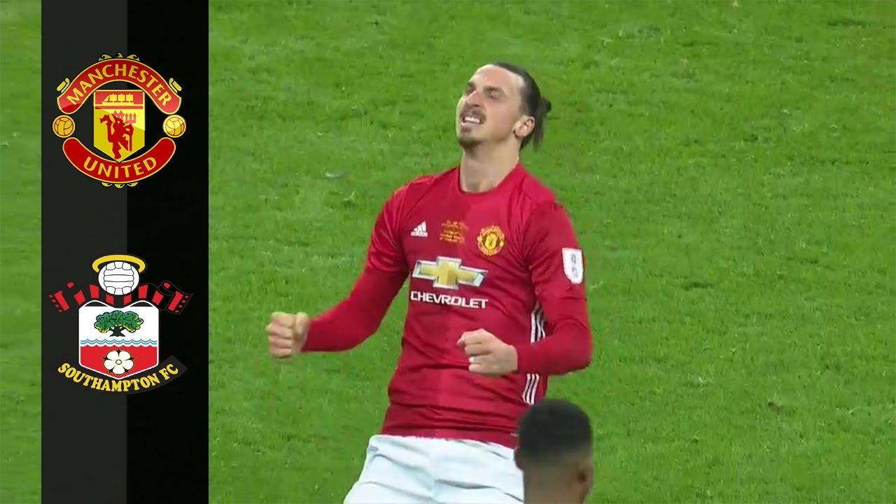 Manchester United Vs Southampton   Goals Highlights  Hd