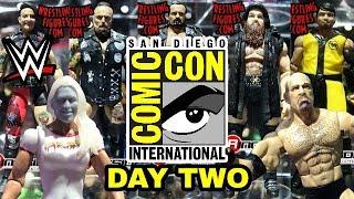WWE SDCC 2018 - WWE Mattel Wrestling Figure Reveals - Day Two