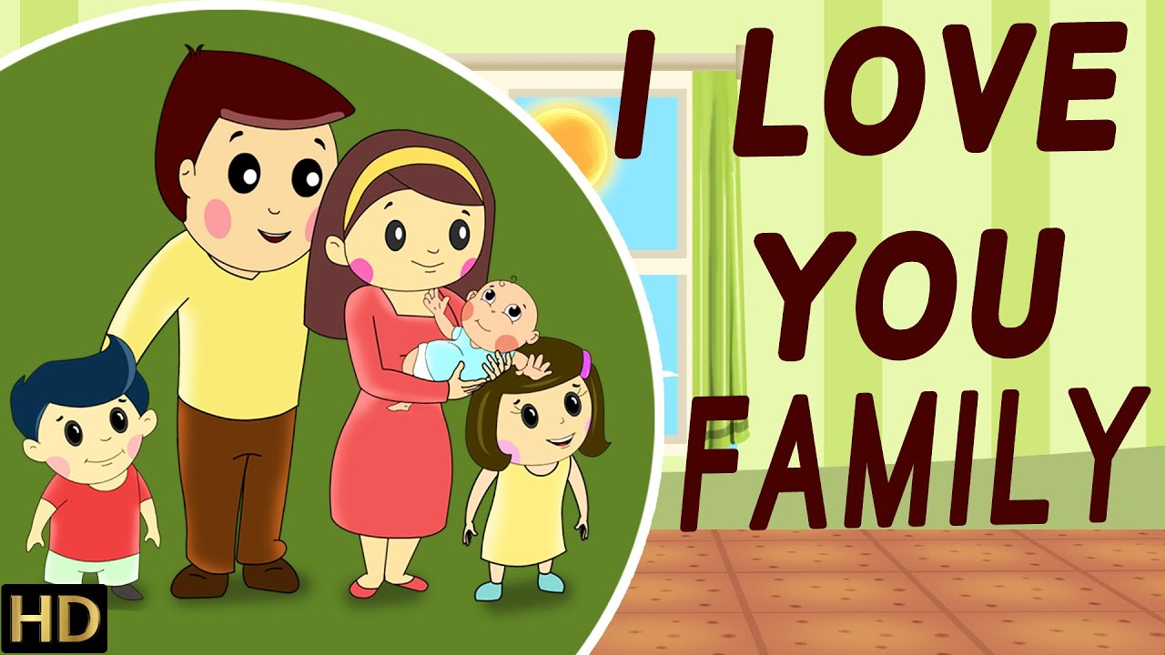 I Love You Family Hd Nursery