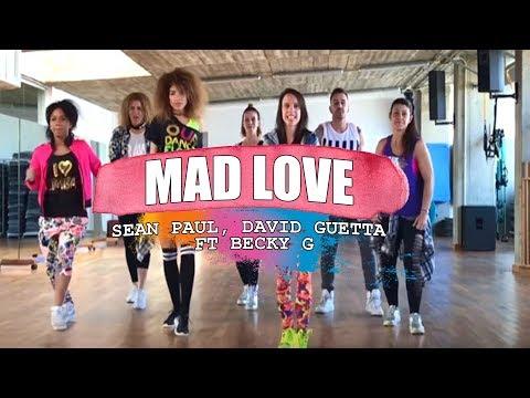 MAD LOVE - David Guetta, Sean Paul ft Becky G / ZUMBA con ALBA DURAN