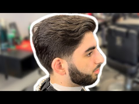 DIFFICULT LOW LOW FADE using Scissor Over Comb! Barber Tutorial