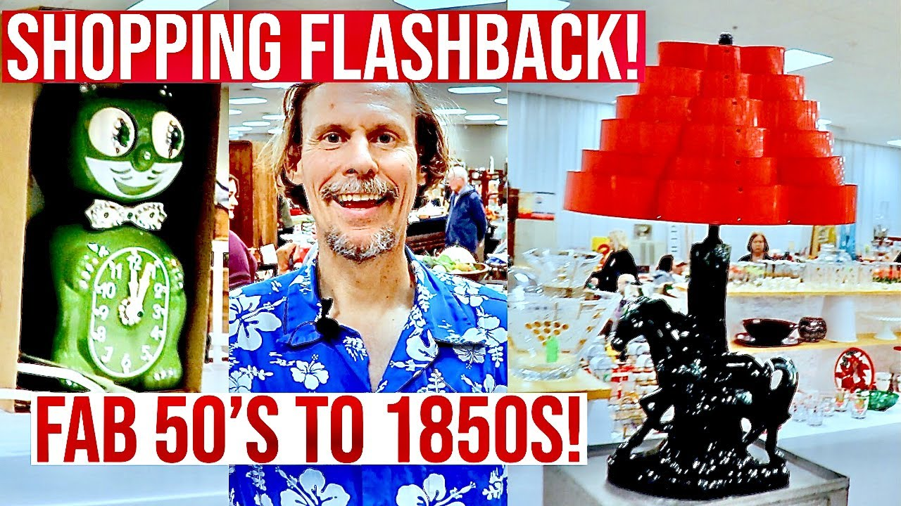SHOW SHOPPING FLASHBACK! | ANTIQUE VINTAGE RESELLER | BUY & SELL