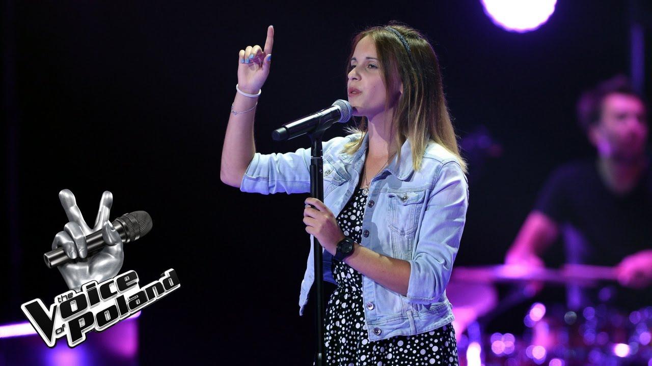 """The Voice of Poland VII – Karolina Gefert – """"Like I'm Gonna Lose You"""" – Przesłuchania w ciemno"""