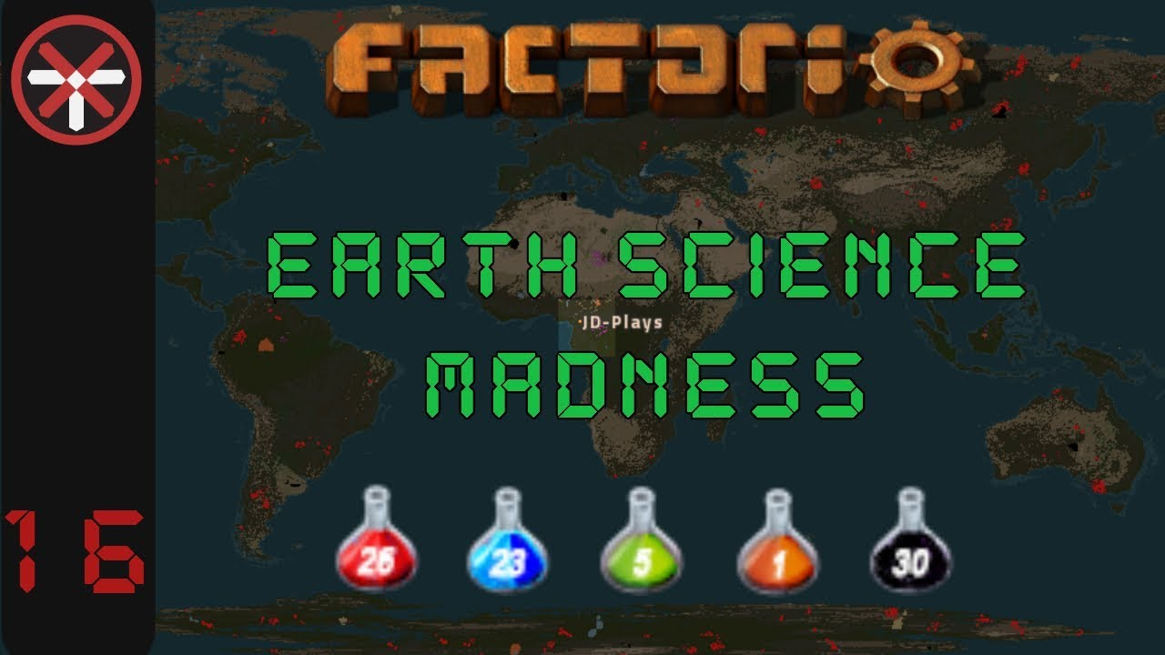Factorio Earth Science Madness EP16: NUCLEAR SCIENCE PREP! | Multiplayer Gameplay, Lets Play