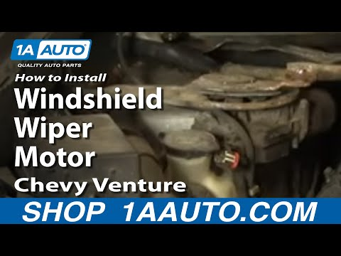 How to Replace Windshield Wiper Motor 97-05 Chevy Venture