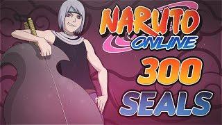 Naruto Online | 300 Seal Scrolls Into Great Ninja War Treasure And Finishing Anbu Kakashi