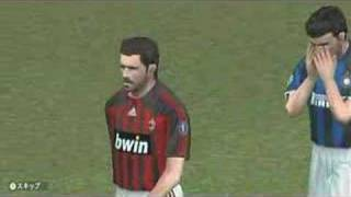 PES 2008 (Wii) - Gameplay Demo by Konami Developers (2/2)