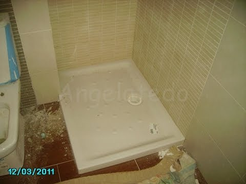 Instalacion plato de ducha de obra leroy merlin doovi for Impermeabilizar plato ducha