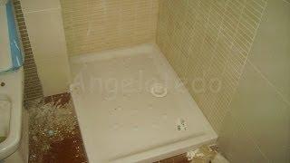 Colocar plato ducha Roca rectangular