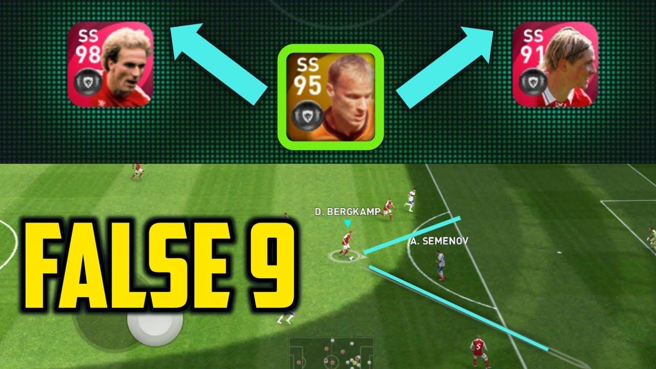 Bergkamp + False 9🔥• Best way to use him Perfectly | Pes2021