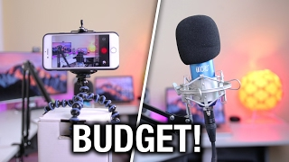 How to Make YouTube Videos on $100 Budget! | BEST Budget YouTube Equipment 2017!