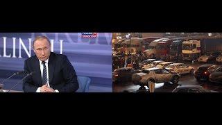 Путин про дальнобойщиков Видео ОТВЕТ пресс-конференция 17 декабря путин про дальнобойщиков