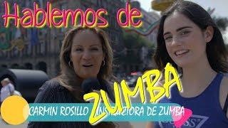 ♥ Bailando ZUMBA en el Zócalo ♥