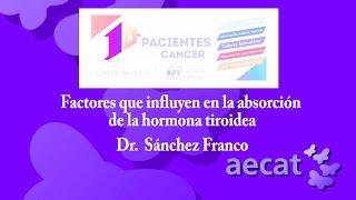 FACTORES QUE INFLUYEN EN LA ABSORCIÓN DE LA HORMONA TIROIDEA  _ DR SANCHEZ FRANCO