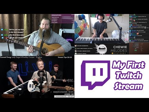 My First Twitch Stream Ft. Livi In The Middle And ChewieMelodies (Explicit)