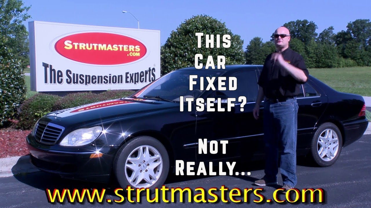 2003 mercedes s 430 with mon suspension problem youtube 2002 Mercedes S430 AMG 2003 mercedes s 430 with mon suspension problem