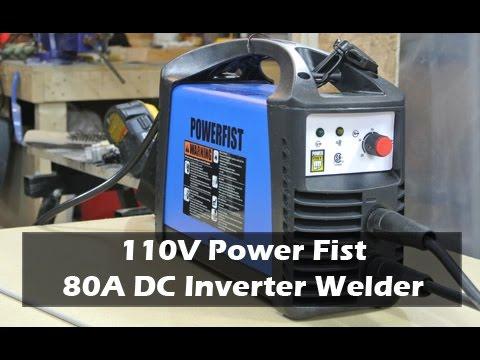 Princess Auto 80A Inverter Based DC Stick/Arc Welder Review