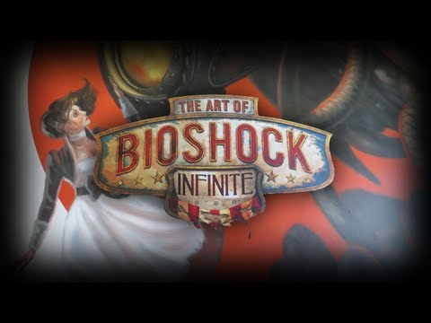 Bioshock Infinite The Art Of Bioshock Infinite Unboxing Review Dark Horse Hardcover