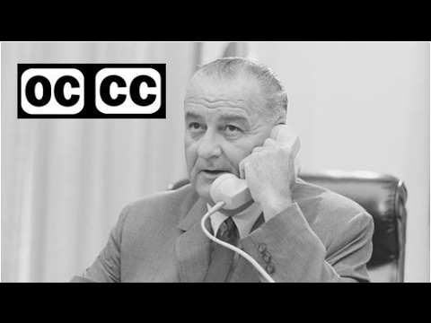 1965, March 15 – LBJ – Speech Before Congress on Voting Rights – closed captioned