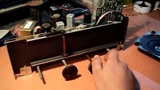 Lambalı radyo şasesi - Tube Radio Chasis