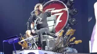 foo fighters van halen the kinks rush queen cover medley front row live 92915