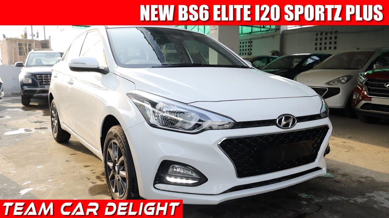 Elite I20 2020 Sports Plus Bs6 Detailed Walkaround On Road Price I20 Sportz Plus 2020 Youtube