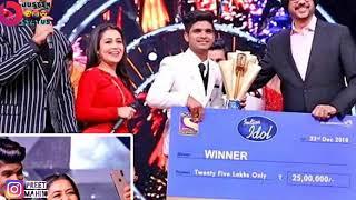 Salman Ali Winner - indian idol 10 - Grand Finale 23 December 2018 - Last Performance