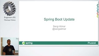 Spring Boot 1.3 - Singapore Spring User Group
