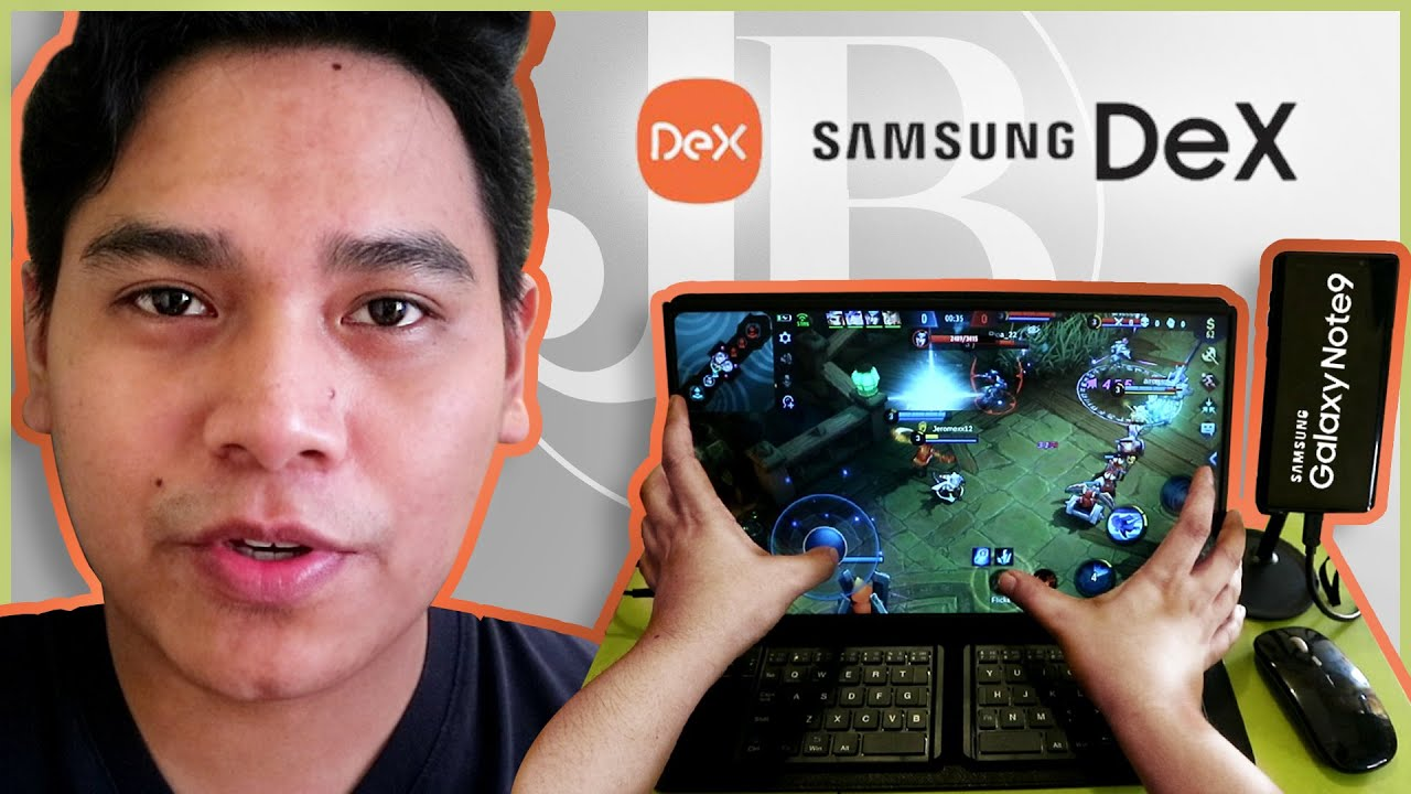 ZSCMALL Portable Monitor Review | How to Setup Samsung DEX on Samsung Galaxy Note 9