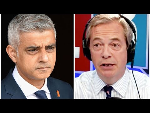 Farage BLASTS Sadiq Khan and 'ghastly' John Bercow for HARMING UK Brexit trade talks