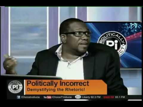 Hon Alva Baptiste on Politically Incorrect on May 16th, 2017.
