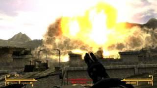 Fallout: New Vegas - Minigun Mini-Nuke Fat Man Demo